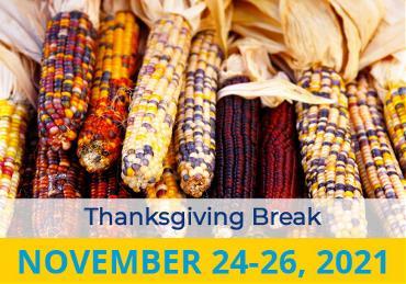 Thanksgiving Break 2021 Image